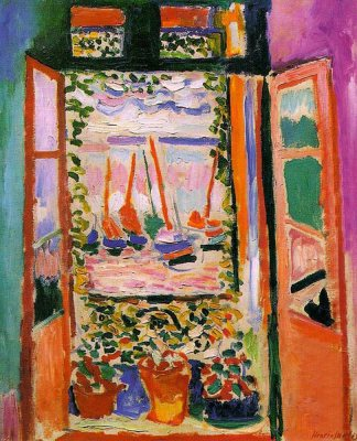 The-Open-Window-by-Henri-Matisse